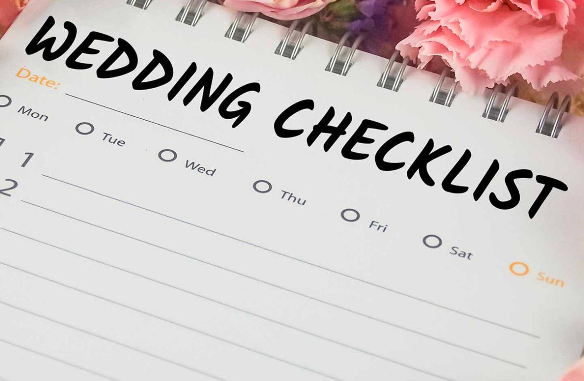 91fd01ae7966 Wedding Checklist – La lista di cose da fare gli ultimi 12 mesi del tuo  matrimonio