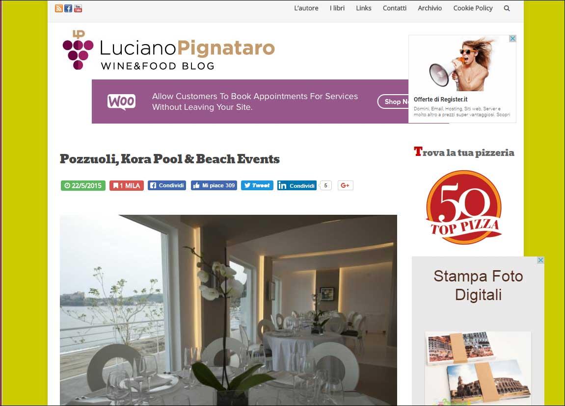 Pozzuoli, Kora Pool & Beach Events