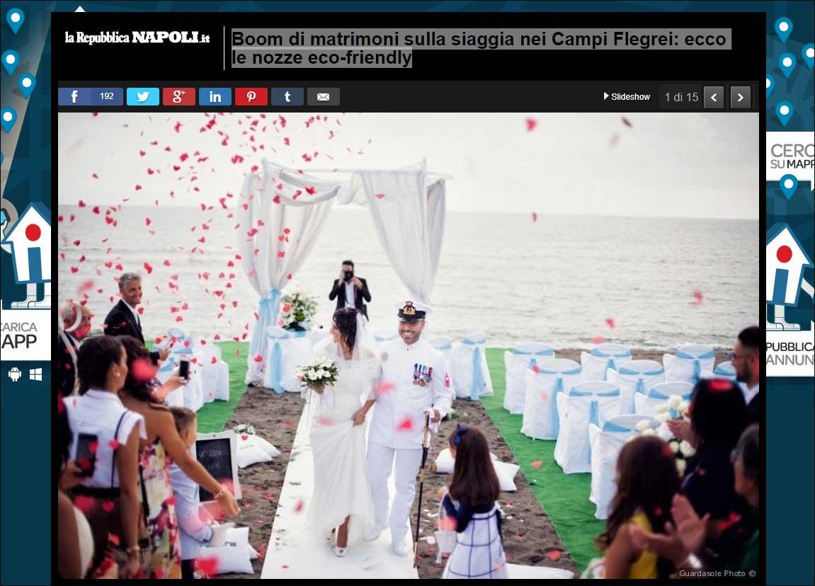 Matrimonio in spiaggia: una selezione delle più belle location in Italia